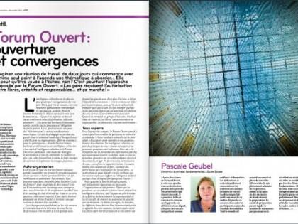 Outil. Forum ouvert : ouverture et convergences