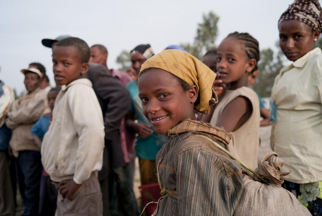Portrait. Bogaletch Gebre. KMG Ethiopia est née en 1997.
