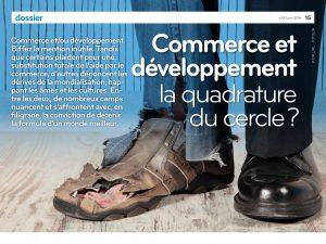 Colloque «Commerce et développement»